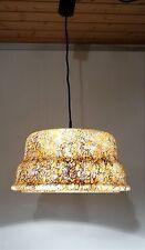 Kultige grosse Glasdeckenlampe Leuchte  Überfangglas Glas Decken Lampe 70er