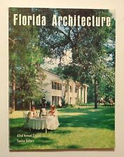 1976 FLORIDA ARCHITECTURE 42nd Ed. Mid-Century Modern HOUSES INTERIORS DESIGN