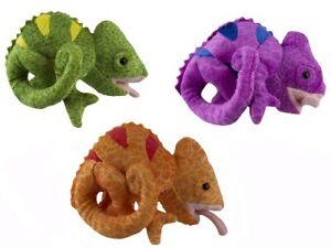 1 X PLUSH CHAMELEON 17CM teddy soft toy stuffed animal doll gift christmas