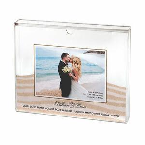 Wedding Sand Ceremony Photo Shadow Box Frame Blended Family Unity Set Kit