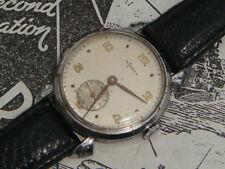 Mens Incarna Vintage Swiss watch 1940s 50s Art Deco crab spider lugs xmas gift