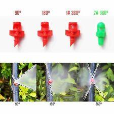 5/25/100pcs EZ Clone Machine Hydroponic Sprayer Nozzle Jet Mister 90°/180°/360°