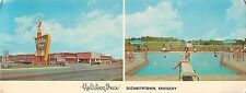 1966 Holiday Inn, Elizabethtown, Kentucky Panorama Postcard