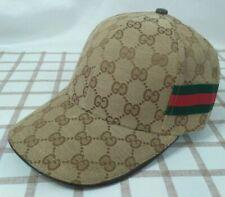 Brown GG Cap Golf Baseball Hat Mens Adjustable