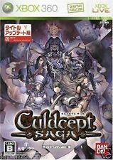 Used Xbox 360 Culdcept Saga MICROSOFT JAPAN JP JAPANESE JAPONAIS IMPORT