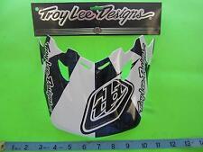 Troy Lee Designs TLD SE2 Vortex Checkit Helmet Replacement Visor White 1122-5400