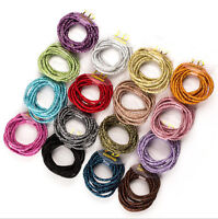 20Pcs Elastic Rope Women Fashion Hair Ties Ponytail Holder Head Band Hairbands