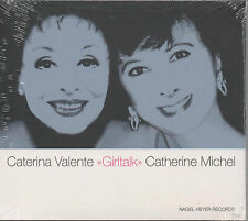 CATERINA VALENTE Catherine Michel Girltalk CD NEUF BOLERO the way we were Martina