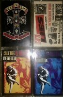 4 GUNS 'N ROSES CASSETTE TAPES APPETITE FOR DESTRUCTION USE YOUR ILLUSION LIES