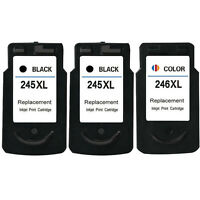3x Ink Cartridges for Canon PG-245XL CL-246XL PIXMA MG2920 MG2922 MG2924 MX492