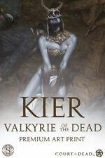 Kier Call of the Forsaken Valkyrie Art Print Court of the Dead Sideshow