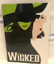 WICKED BROCHURE & PLAYBILL FROM SAN DIEGO. GREAT CONDITION! RARE VERSION!