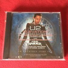 U2 – ELEVATION US CD single 3 tracks PROMO Tomb Rider PS INTR-10387-2 Angelina