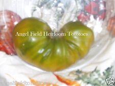 20  Hump Heirloom Tomato Organic Garden 20 Seeds  Green Tomatoes