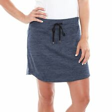 NEW Z by Zohba Ladies Slub One Pocket Athletic Yoga Skort Size Small $49 Retail