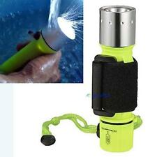 6000LM CREE XM-L T6 LED Waterproof Underwater Scuba Diving Flashlight Torch EV