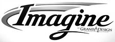 2 RV TRAILER CAMPER IMAGINE LOGO GRAPHICS DECALS -1881