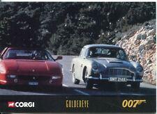 James Bond Corgi Cars Exclusive Trading Card #50 Goldeneye
