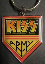"""KISS Portachiavi/Keychain/Keyring # 8 """"Kiss Army"""" - Metallo"""