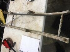 1979 Skidoo Citation 300 twin snowmobile parts: BOTH RAILS w crossbars