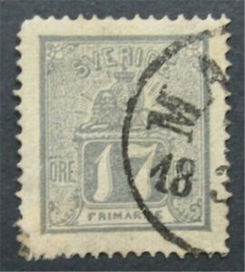 nystamps Sweden Stamp # 15 Used $800    S24x1242