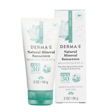 Derma E - Naturel Minéraux Solaire Large Spectre SPF 30 pour Visage - 59ml/56g