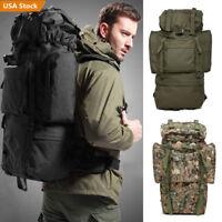 30L/55L/80L Outdoor Military Tactical Backpack Camping Hiking Trekking Rucksacks