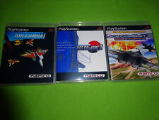 Empty Replacement Cases! ACE COMBAT 1 2 3 Trilogy SONY PLAYSTATION 1 PS1 PS2 PS3