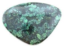 97.69 Carat Green Blue Spiderweb Turquoise Cab Cabochon Gem Gemstone B20A34