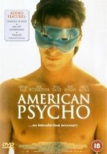 AMERICAN PSYCHO CHRISTIAN BALE REESE WITHERSPOON EIV UK REGION 2 DVD NEW SEALED