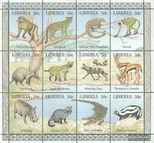 Liberia 1807-1818 ZD-archery unmounted mint / never hinged 1997 Locals Animals