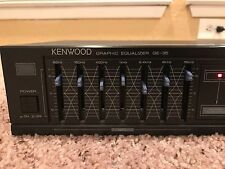 Kenwood Model GE-35 Stereo Graphic Equalizer 7 Band