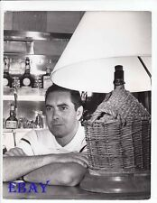Tyrone Power at home candid VINTAGE Photo