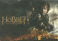 The Hobbit Battle Of Five Armies Canvas Parallel Card #1 Serial # 55 of 75