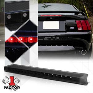 Black Housing Smoke Lens Rear LED Third [3rd] Brake Light for 99-04 Ford Mustang