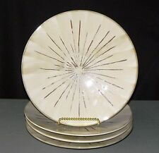 "Lot of Four Pier 1 ""Sanctuary"" 8.5"" Salad/Side Plates - Starburst"