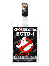Ghostbusters Ecto-1 ID Badge Parking Permit Cosplay Prop Costume Comic Con