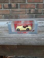 Vintage Petro Vitesse Triumph TR3A 1958-61 Sports Car 1:43 Yello Needs Work