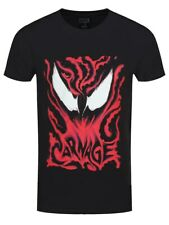 Venom T-shirt Carnage Men's Black
