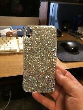 Silver Bling Glitter Iphone XR Case