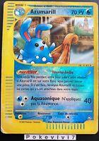 Carte Pokemon AZUMARILL 4/147 Rare REVERSE Aquapolis Wizards FR