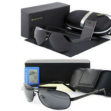 2018 Hot New style Men's polarized sunglasses Driving glasses + Gift Box GN2335