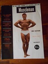 Reg Park Journal MUSCLEMAN bodybuilding muscle magazine/ERIC EASTHAM 11-53 (UK)