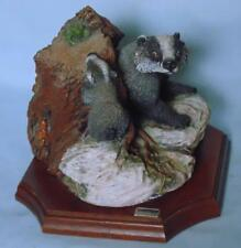 More details for bossons badger sculpture first friend