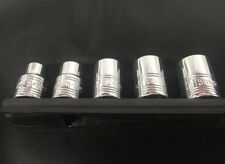 SK Tools 5 pc Metric Socket Set 3/8 Dr Spline 8-15mm New $64 Retail Made In USA