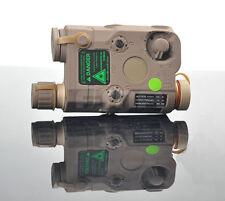 New DE PEQ-15 White LED light Green laser IR Lenses Aiming Module Tail control