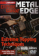 Lick Library Extreme Guitar Metal Edge Tapping Techniques Learn to Play Rock DVD