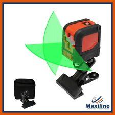 Green Beam 1V1H  Self Levelling Cross Line Laser Level Palm Laser DIY Tool