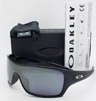 NEW Oakley Turbine Rotor sunglasses Ghost Text Black Iridium 9307-02 AUTHENTIC