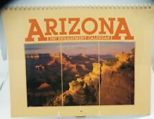 VTG, ARIZONA,1987 Engagement Calendar, Very Good Condition, Beautiful Photos, NM